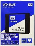WD Blue WDS500G1B0A 500 GB Internal SSD Solid State Drive, SATA 6 GB/s 2.5 Inch