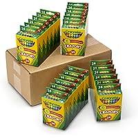 24-Pack Crayola Crayons 24-Count Bulk Supplies