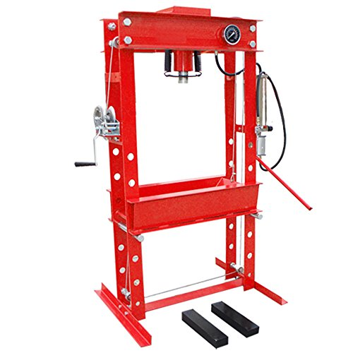 MH Amazon Heavy Duty 45 Ton Air Hydraulic Floor Shop Press Air Pump