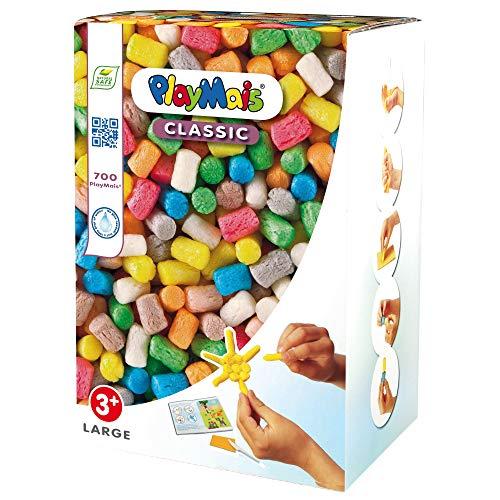 PlayMais - Caja de material para moldear en colores variados tamaño grande...
