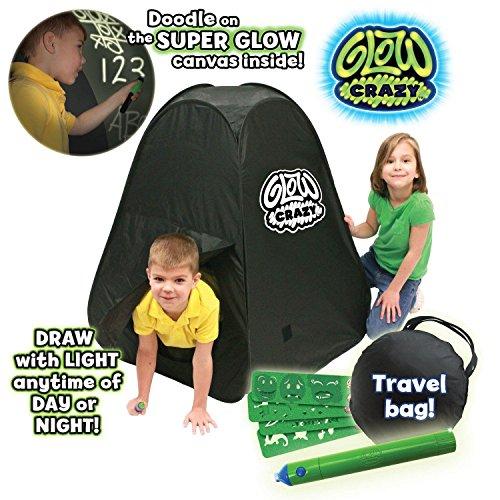 Glow Crazy – Doodle Dome – Tente à Dessin – Kit de Loisirs Créatif (Import Royaume-Uni)