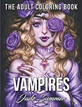 Vampires: An Adult Coloring Book with Sexy Vampire Women, Dark Fantasy Romance, and..