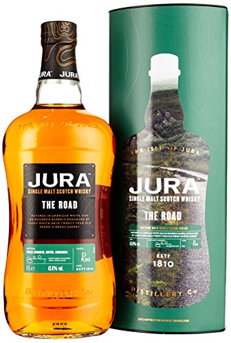 Jura THE ROAD Single Malt Scotch Whisky mit Geschenkverpackung (1 x 1 l)