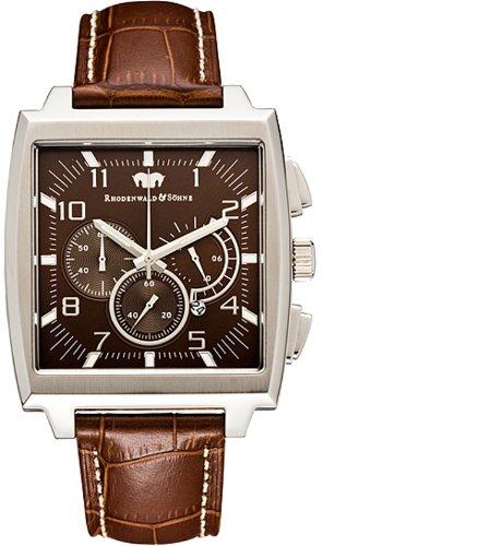 Rhodenwald & Söhne Haramis 70200002 - Reloj para Hombres, Correa de Cuero Color marrón
