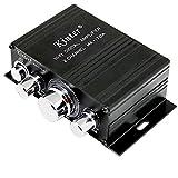 DollaTek Kinter MA-170A Mini Amplificador de Audio y Sonido para Motocicleta Digital Personal con BT 12V 2ch Agudos Agudos de Uso por teléfono