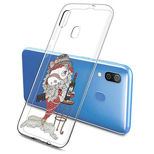 Oihxse Funda Dibujos Animal Lindo Compatible Samsung Galaxy J7 Prime 2017 Carcasa...