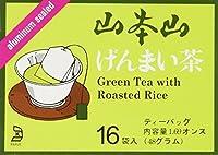 ヤマモトヤマ - ゲンマイチャ (茶色い米) 16袋