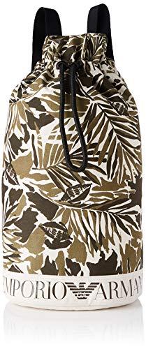 Emporio Armani Swimwear Sack Safari Resort, Saco Mujer, Tropic Camuflaje, Einheitsgröße