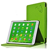 GGGarden Tri-fold Case Stand Cover For Teclast X98 Air II X98 Air 3G Tablet - Green