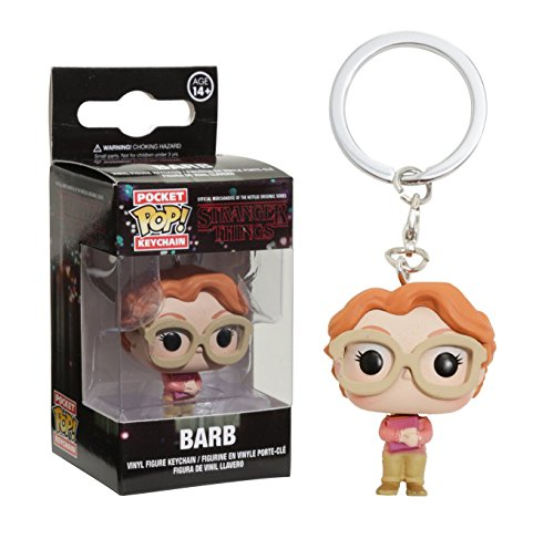Funko- Pocket Pop Keychain Stranger Things Barb, 4 cm, 14384