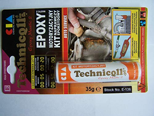 EPOXY PUTTY FOR METALS (steel aluminium) PLASTIC WOOD GLASS 35g HIGH QUALITY new by Technicqll