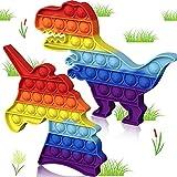 Pop it Licorne Dinosaure,pop it licorne dinosaure Arc ec Ciel multicolore,popit licorne jeux,popites,popits