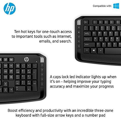 HP Wireless Keyboard and Mouse Combo  3ML04AA