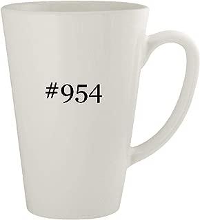 #954 - Ceramic 17oz Latte Coffee Mug