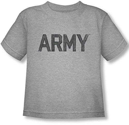 Army - - Niño camiseta de la estrella, 4T, Athletic Heather