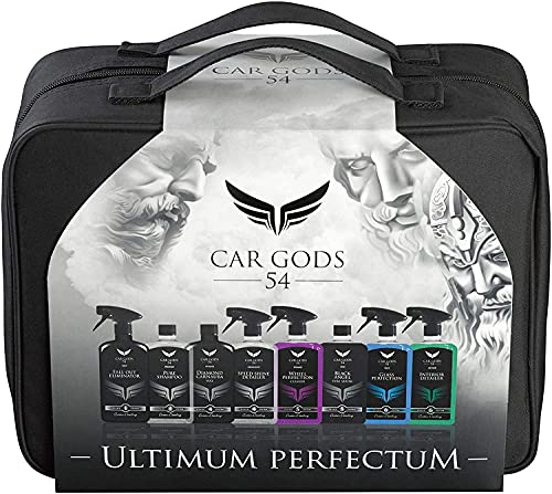 Car Gods 8 Piece Complete Bodywork Wheels Interior Cleaning Detailing Gift...