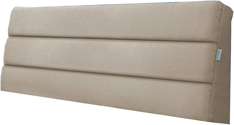 XJINXIU Coussin Tête De Lit Coussin Canapé-lit rembourré, Coussin de Soucravaten de Taille Tatami, Non Inclus,lumièrejaune,90  50  5CM