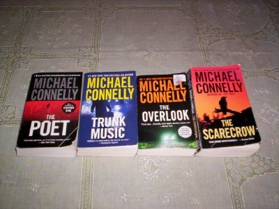 Michael Connelly - (Set of 4) - Not a Boxed Set (Trunk Music - The Poet - The Overlook - The Scarecrow)