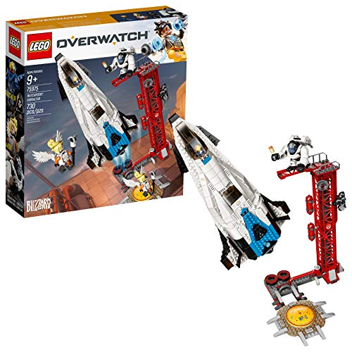 LEGO Overwatch Watchpoint: Gibraltar 75975 Building Kit (730 Pieces)