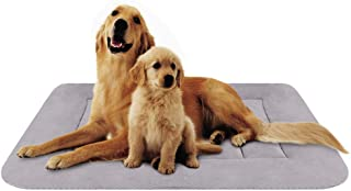 Hero Dog Large Dog Bed Crate Pad Mat Washable Non Slip Pet Beds for Sleeping