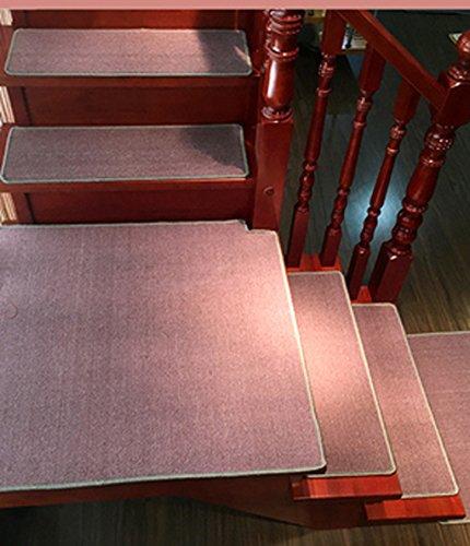 Scale tappetino pad, 5 pezzi,Scalinata Passo tappetino antiscivolo tappeto antiscivolo Mat Corridoio coperta moderna grigio ( Colore : B , dimensioni : 65*24cm )