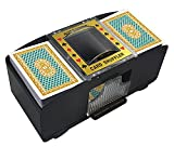 Best Card Shufflers - TAAVOP Automatic Card Shuffler, 1-2 Deck Battery-Operated Electric Review