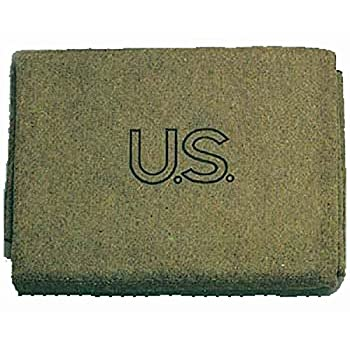 Military Outdoor Clothing U.S Style Wool 3-Pound Military Blanket