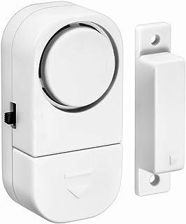 Sensor Magnético, Sistema de Alarma de Seguridad Inalámbrico para Puertas y Ventanas y Entrada a