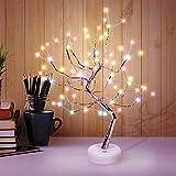 Herefun Árbol con Luces, Árbol Bonsái de Luces Led, Árbol Bonsái Lámpara con 108 LED, Luces de Noche de árbol Bonsai, Lámpara para Fiesta Boda Decoraciones (108 LED)