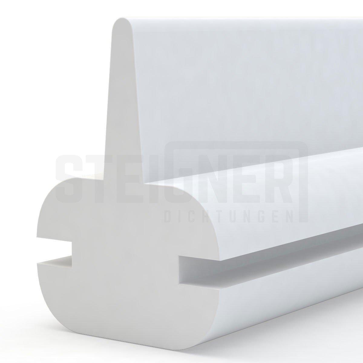 Junta de silicona para puerta de mampara de ducha, lengüeta de goma: Amazon.es: Bricolaje y herramientas
