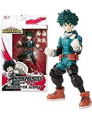 BANDAI My Heroes Academia – Anime hjältefigur 17 cm – Midoriya Izuku – 36911, flerfärgad