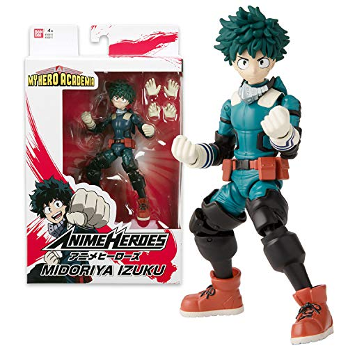 Bandai. Anime Heroes. My Hero Academia. Action figure Anime heroes 17 cm. Midoriya Izuku. 36911