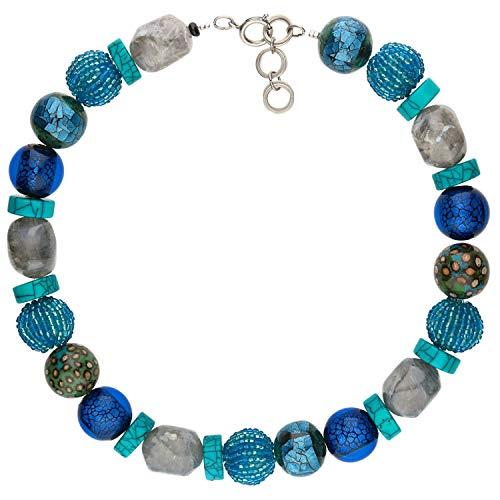 langani Halskette Ouranos Damen-Kette schwarzen Perle Handmade Since 1952