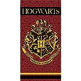 Harry Potter Serviette de Bain en Microfibre pour Enfant Poudlard 100% Polyester
