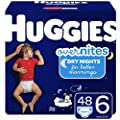 Huggies Overnites Nighttime Diapers, Size 6, 48 Ct by Kimberly-Clark Corp.