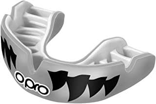 OPRO Power-Fit Mouthguard - for Football, Rugby, Hockey, Lacrosse, Wrestling, and Other Contact Sports (Adult and Junior Sizes)