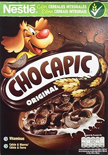 Cereales Nestlé Chocapic 14 paquetes de cereales de 375g