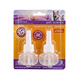 Arm & Hammer for Pets Scents Plug-in Scented Oil Refills in Lavender Fields, 2-Pack   Room Deodorizer for Homes with Pets, 0.67 Fl Oz x 2