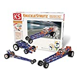 KNUCKLESTRUTZ, Racerz Set, 139 Piece, 3-in-1 Incredibly Interconnectable Vehicle Construction Building Toy Set