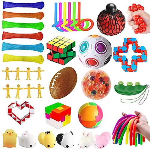 mUj1 36Pc Fidget Toy Packs, Set De Juguetes Sensoriales...