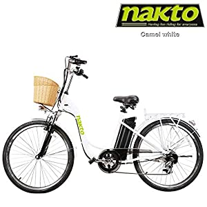 NAKTO Adult Electric Bicycles 26″ Electric Bikes for 36V/10Ah/12Ah Ebikes
