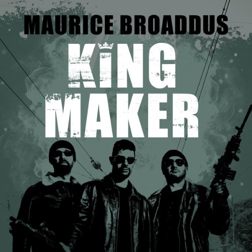 King Maker audiobook cover art