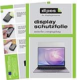 dipos I 2X Schutzfolie matt kompatibel mit Huawei Matebook 13 Folie Bildschirmschutzfolie