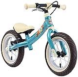 BIKESTAR Mitwachsendes Kinder Laufrad Lauflernrad Kinderrad für Jungen und Mädchen ab 3-4 Jahre   12 Zoll Flex Sport Kinderlaufrad   Türkis   Risikofrei Testen