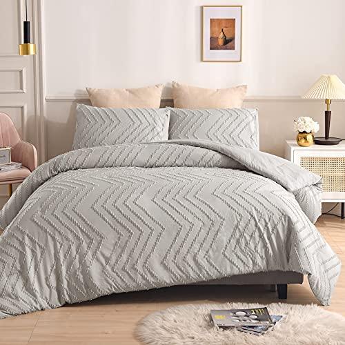 CCBAO Bettwäsche Heimtextilien Reiner Farbbettbezug Einfach Elegant Bequem Langlebig Und Leicht Zu Reinigen 2 Sets 175x230cm