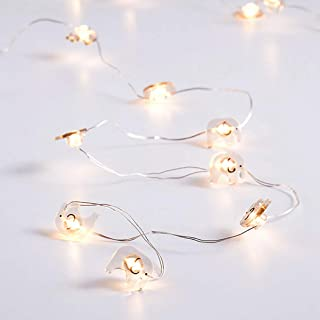 Outgeek Led Lamp String Lovely Hanging Elephant Party Decor Light for Home Decor
