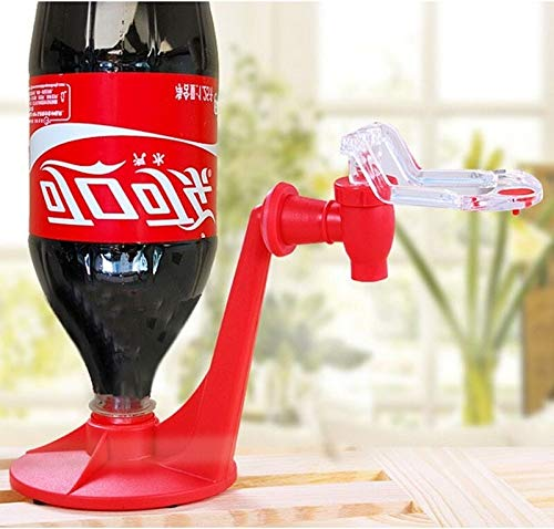El Magic Bottle Tap Soda del ahorrador del dispensador de Coca-Cola Al revés Beber máquinas de Bebidas Partido despachar Agua Bar Gadgets de Cocina