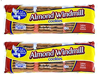 Lil Dutch Maid Almond Windmill Snack Cookies 10oz  Multipack of 2