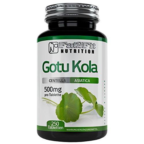 Gotu Kola 250 Tabletten je 500mg Die preiswerte Alternative Tigergras Wassernabel