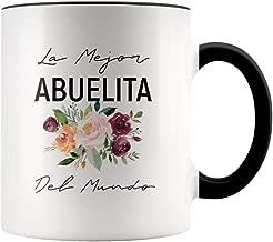 Regalo Para Abuela - Dia De La Madre - La Mejor Abuelita Del Mundo Coffee Mug